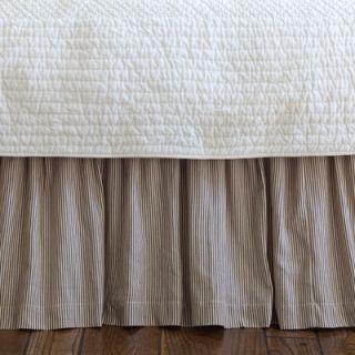 Taylor Linens Farmhouse Stripe Bed Skirt   208FRMST
