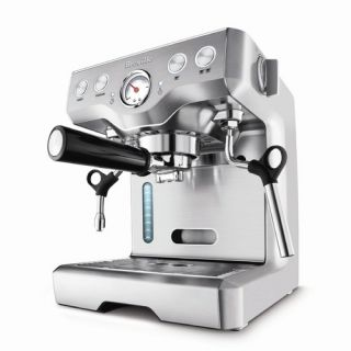 La Pavoni Bar Star Series Commercial 4 Group Espresso Machine in Red