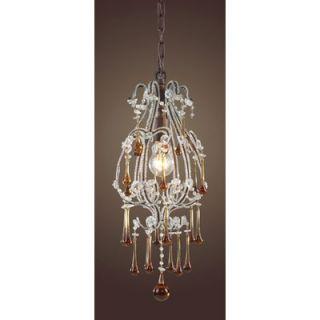 Dimond Lighting Opulence 1 Pendant   12013/1AMB