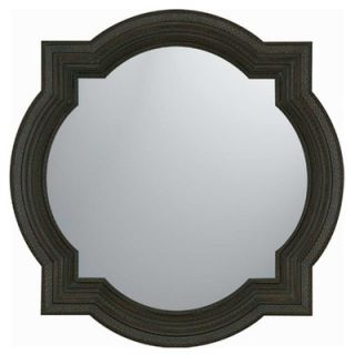 Paragon Dark Wood Finish Traditional Wall Mirror