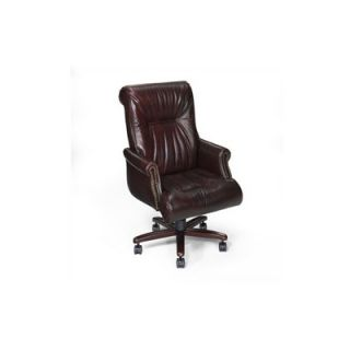 Seven Seas Seating Edison High Back Leather Executive Chair   EC 216