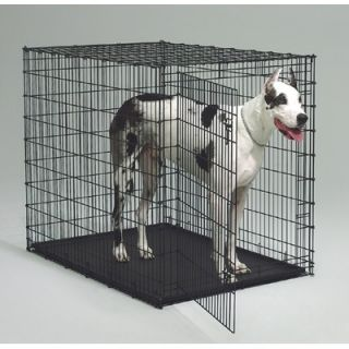 Midwest Homes For Pets Starter Series Large Pet Home with Plastic Pan