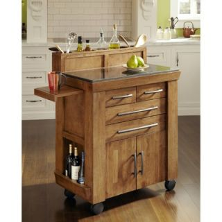 Home Styles Vintage Gourmet Kitchen Cart
