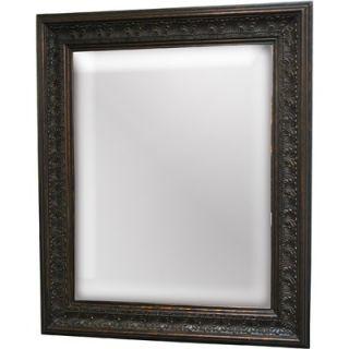Imagination Mirrors Quatro Foil Wall Mirror in Dark Gold Patina