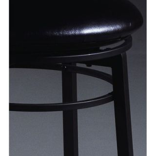 Hillsdale Black Cottage Swivel Counter Stool   4366 826