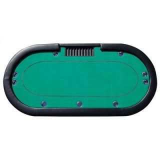 BBO Poker V5 Series Specialized Poker Table with Green Playing Surface
