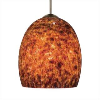 LBL Lighting Lava II 1 Light Mini Pendant   HS309TO X