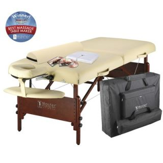 Master Massage 30 Del Ray Pro Package Massage Table in Cream