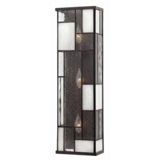 Hinkley Lighting Mondrian Wall Sconce in Buckeye Bronze