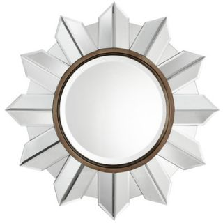 Cooper Classics Eva Wall Mirror in Distressed Aged Bronze