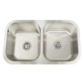 Artisan Sinks Manhattan Double Bowl Undermount Kitchen Sink