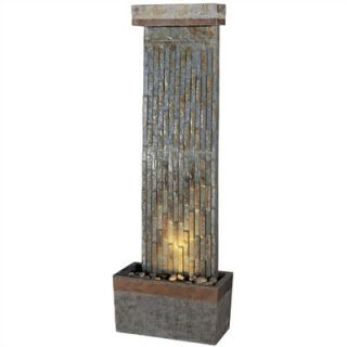 Kenroy Home Tacora Natural Slate Vertical Floor Fountain