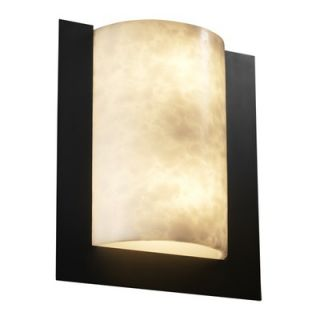 Justice Design Group Clouds Framed Two Light ADA Wall Sconce