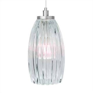 LBL Lighting Tear SI Coax 1 Light Mini Pendant