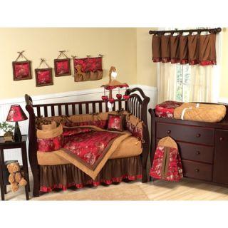 Sweet Jojo Designs Oriental Garden 9 Piece Crib Bedding Set