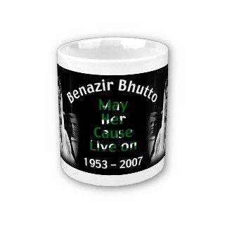 0203 Benazir Bhutto 1953 2007 Mug