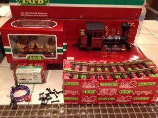 LGB Grizzly Flats Railroad Set