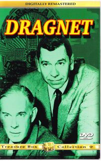 Dragnet Harry Morgan Jack Webb Treasure Box Collection DVD