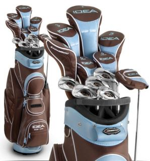 Adams Golf Womens Package Set Idea A12OS Premium Complete Set Java
