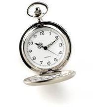 Personalized High Polish Pocket Watch Groomsmen Gift