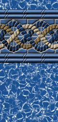Mystri Above Ground Beaded Swimming Pool Liners 20 Mil