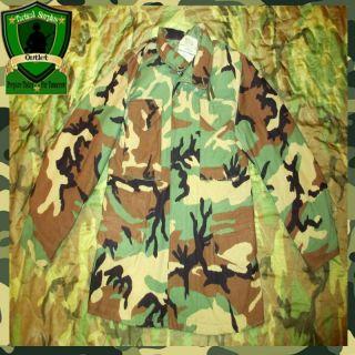 NWOT USGI Military Army Woodland BDU Field Jacket Hiking Hunting