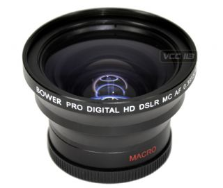 38X 58mm Wide Angle Lens for Canon 7D 60D 50D T2i T1i