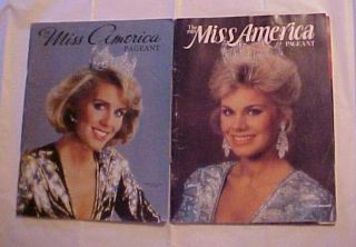 America Pageant Souvenier Program Kellye Case Gretchen Carlson