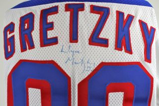 Wayne Gretzky NY Rangers Autographed Jersey JSA Thumbnail Image