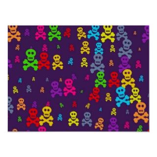 Colourful scary pirate skull and crossbones wallpaper design.