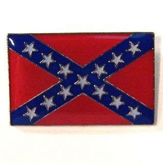 12 Rebel Flag Hat Pins Jacket Pin Confederate Lapel Tac