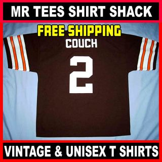 Cleveland Browns Tim Couch 2 Brown Reebok NFL Football Jersey Youth XL
