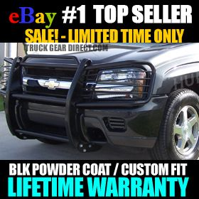 02 09 Chevy Trailblazer Grille Brush Grill Guard Bar