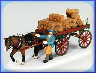 Gourmet Chocolates Delivery Wagon NEW Department Dept. 56 Dickens