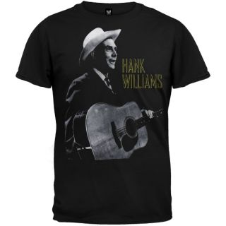 Hank Williams Guitar T Shirt