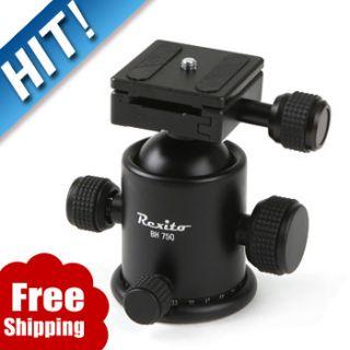 New Rexito BH 75Q DSLR SLR Camera Tripod Ball Head