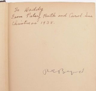 Richard E Byrd 1888 1957 Original Autographed Book