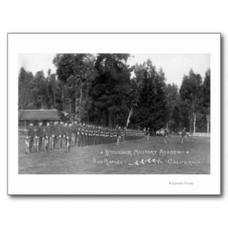 Hitchcock Military Academy Students in Postcards
