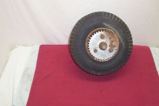 1970S VINTAGE HEALD BRONC SUPER MINIBIKE MINI BIKE REAR WHEEL