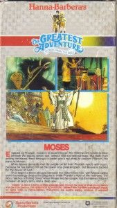 vhs hanna barbera stories from the bible moses