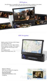 In Dash Touch screen Car DVD Player Auto Radio Stereo GPS NAV System