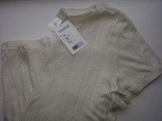 Hanro Nightshirt off white style 6261 Extra Small