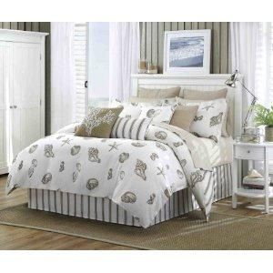 Harbor House Beach House Queen Comforter Set Natural