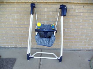 Vintage 50s Graco Swyngomatic Baby Swing Wind Up Original