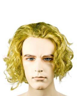 Joker Heath Ledger Batman Villain Dark Night Costume Wig