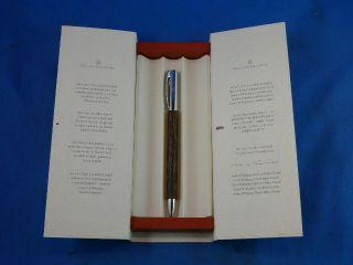 Graf Von Faber Castell Ballpoint Pen Black