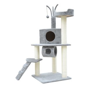 New Cat Scratch Tree 47 Condo Post Cat House Scratcher Bed Toys Pet