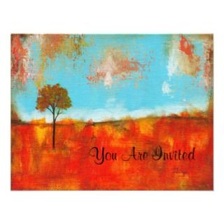 Rapture Invitation Cards Original Painting