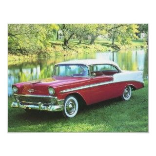 1956 Chevrolet Bel Air Posters