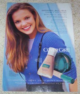 1995 Ad Katherine Heigl Cover Girl Make Up Cosmetics Ad
